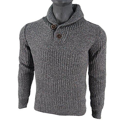 PETROL INDUSTRIES -  Maglione  - Uomo grigio