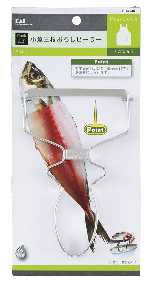 Cookfile 小魚三枚おろし ピーラー DH-2248