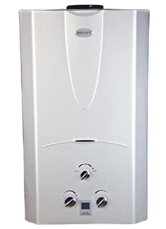 Marey Power Gas 10L 3.1 GPM Natural Gas Digital Panel Tankless Water Heater