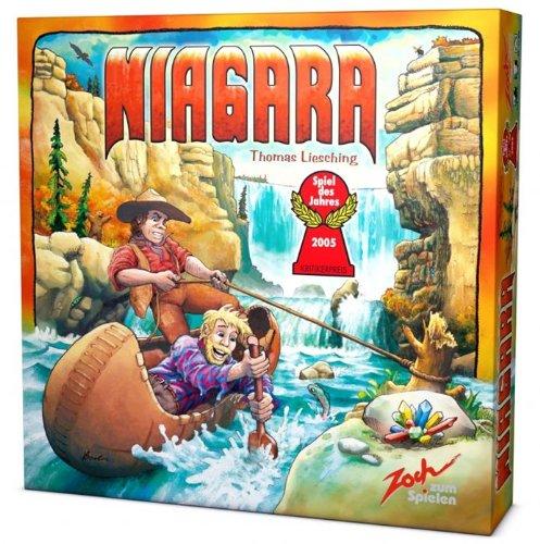 Niagara: Für 3 - 5 Spieler. Spieldauer: 30 - 45 Minuten