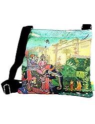 Eco Corner Women's Sling Bag (Multi-Coloured) (2886)