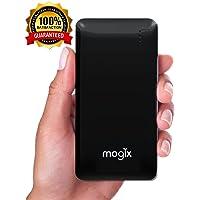 Mogix EL-20655 10400mAhmAh Portable Power Bank with 2 USB Charging Ports (Black)