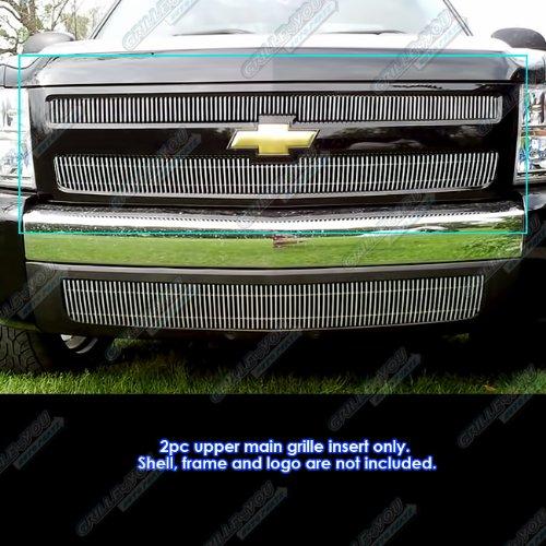 2007-2013 Chevy Silverado 1500 Vertical Billet Grille Grill Insert # C65766V (2008 Chevy Silverado 1500 Grill compare prices)