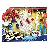 Toy - HASBRO Marvel Super Hero Mashers 6'' Action Feature Figuren - Spider Man B0679