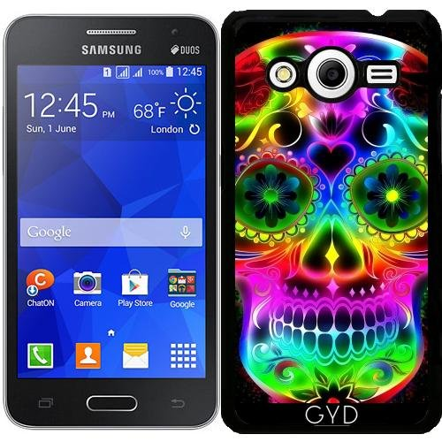 Custodia per Samsung Galaxy Core 2 SM-G355 - Skull20151213 by JAMFoto