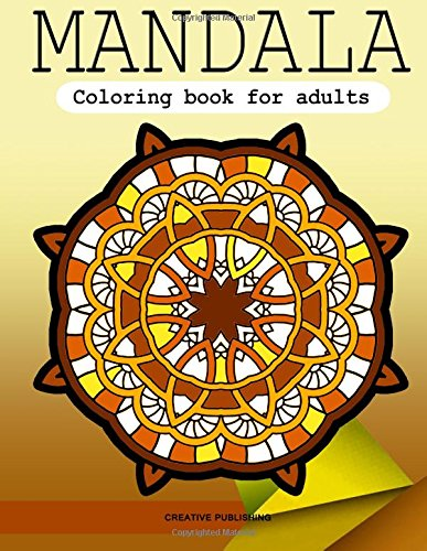 Mandala Coloring Book For Adults Stress Relieving Patterns Creative Publishing