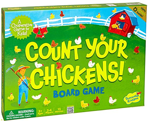 Peaceable Kingdom / Count Your Chickens Award Winning Cooperative Board Game front-502852