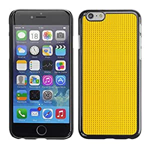 Omega Covers - Snap on Hard Back Case Cover Shell FOR Apple Iphone 6 Plus / 6S Plus ( 5.5 ) - Gold Pattern Black Dots