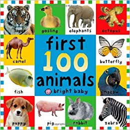 Amazon.com: First 100 Animals (9780312496760): Roger Priddy: Books