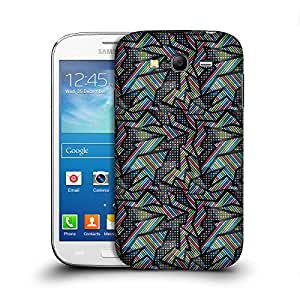 MobileGlaze Designs Early Graffiti Color Dot Band Hard Back Case Cover for SAMSUNG GALAXY GRAND NEO / PLUS / LITE I9060