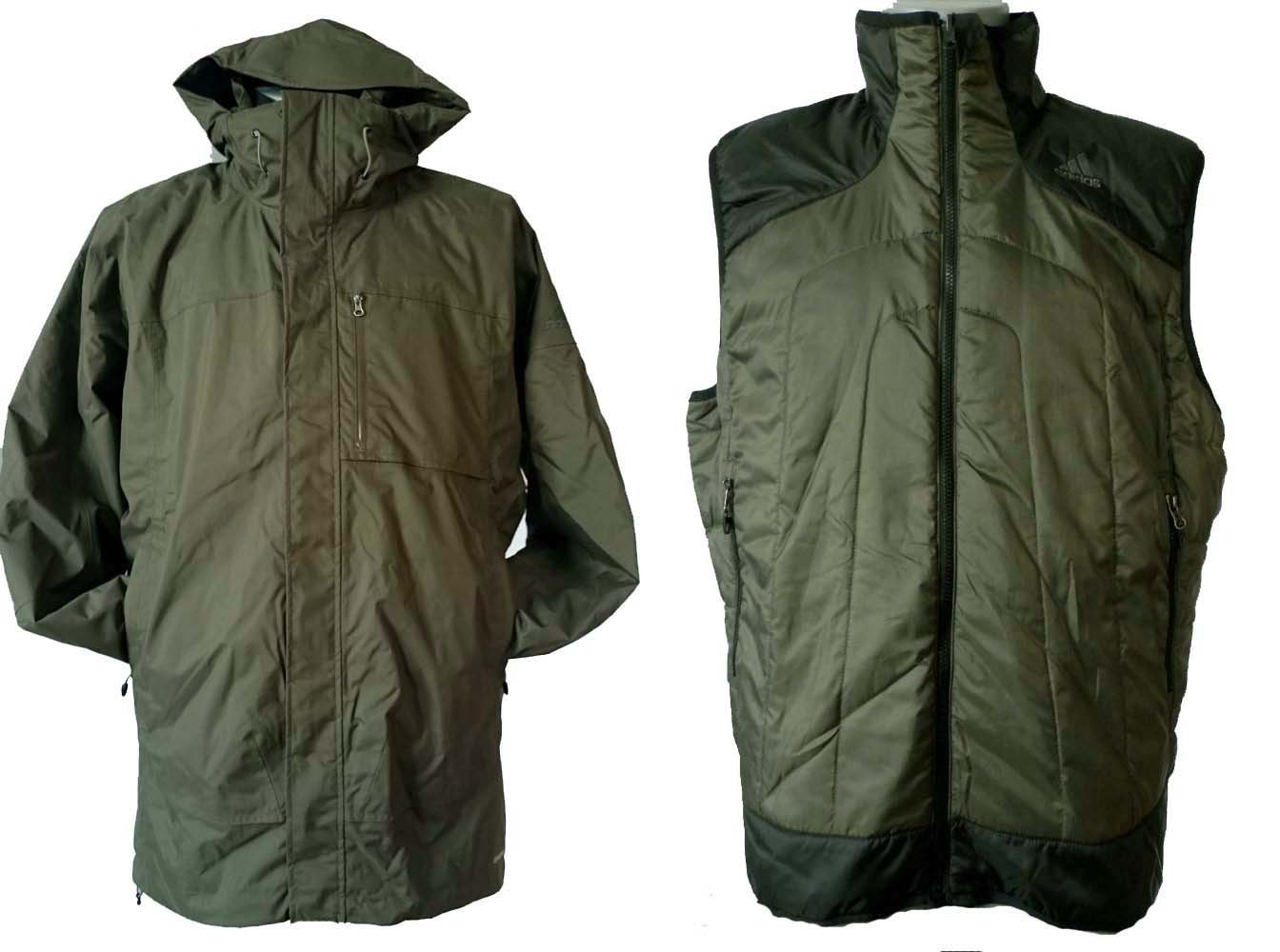 Adidas Hiking Zappan Herren Winter Outdoor Jacke + Weste Neu Gr. XL / 56 günstig kaufen