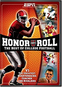 ESPN Honor Roll: The Best Of College Football V1