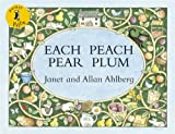 Each Peach Pear Plum (Pocket Puffin) Janet Ahlberg