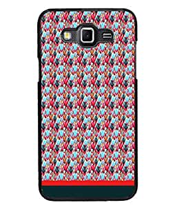 PrintDhaba Heart Pattern D-1660 Back Case Cover for SAMSUNG GALAXY GRAND MAX (Multi-Coloured)