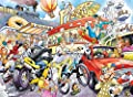 """Wasgij """"Imagine 2 If The Wheel Hadn't Been Invented"""" Jigsaw Puzzle (1000-Piece, Multi-Colour)"""