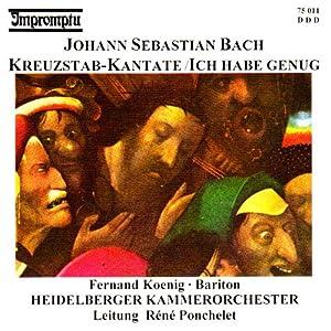 Kreuzstab Kantate (Bwv 56)/Ich