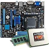 AMD FX-6300 / ASUS M5A78L-M LE/USB3.0 Mainboard Bundle / 8192 MB | CSL PC Aufrüstkit | AMD FX-Series FX-6300 6x 3500 MHz, 8192MB DDR3, Radeon HD 3000, GigLAN, 7.1 Sound, USB 3.0 | Aufrüstset | PC Tuning Kit