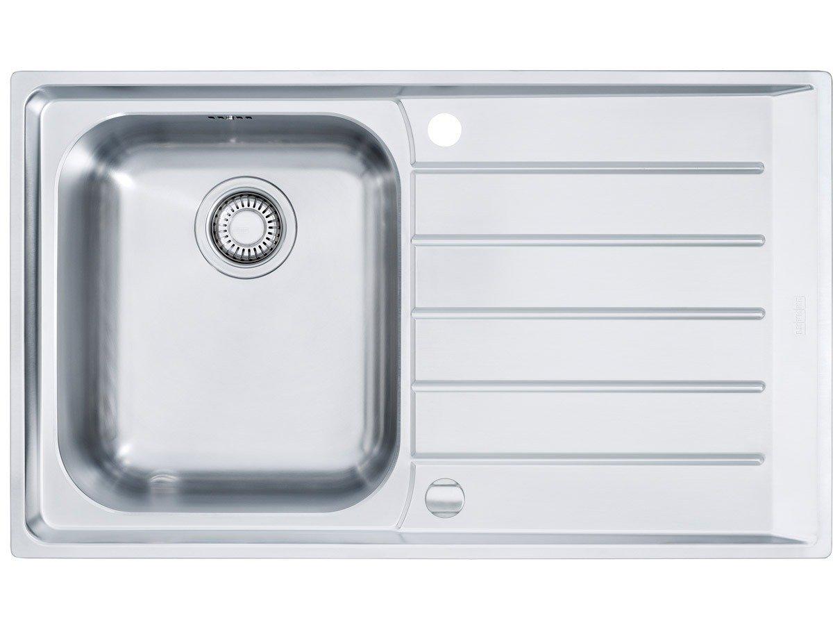 Franke Neptun NEX 611 Edelstahl glatt Küchenspüle Abwaschbecken Spültisch Einbau  BaumarktRezension