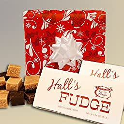 Berries \'N Bows - Assorted Fudge Gift Box - Hall\'s Candies