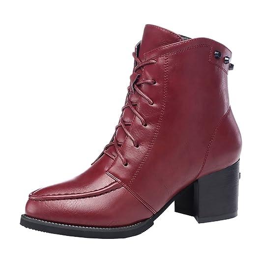 Guciheaven Winter New Style British Rough Heels Short Boots