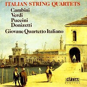 Italian String Quartets