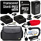 Must Have Accessory Kit For the GoPro HERO3+ Black Edition, HERO3+ Silver Edition, HERO3 SIlver Edition, Black Edition, White Edition, HERO2 Outdoor Edition & Surf Edition Cameras - Kit Includes 32GB Micro Sd Memory Card, 2 Extended Life 2000MAH AHDBT-301 Battery Pack , AC/DC Battery Charger, HDMI to Micro HDMI Cable, Opeka X-GRIP Professional Action Stabilizing Handle + GoPro Gadget Bag Carrying Case + Floating Wrist Strap + Deluxe Lens Cleaning Kit + LCD Screen Protectors + 47stphoto Microfibe