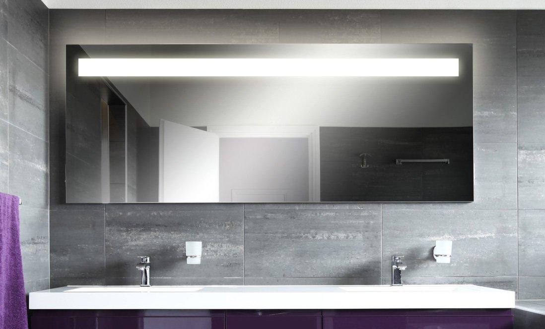 badspiegel mit neon beleuchtung kairo m41n1 kundenbewertung und beschreibung. Black Bedroom Furniture Sets. Home Design Ideas