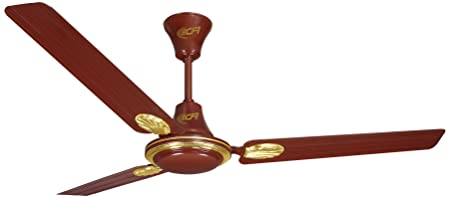 Khaitan ECR Deco 1200mm 76 Watt Ceiling Fan  Brown  available at Amazon for Rs.1450