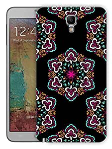 """Humor Gang Ethnic Rangoli Pattern Printed Designer Mobile Back Cover For """"Samsung Galaxy Note 3 Neo"""" (3D, Matte, Premium Quality Snap On Case)"""