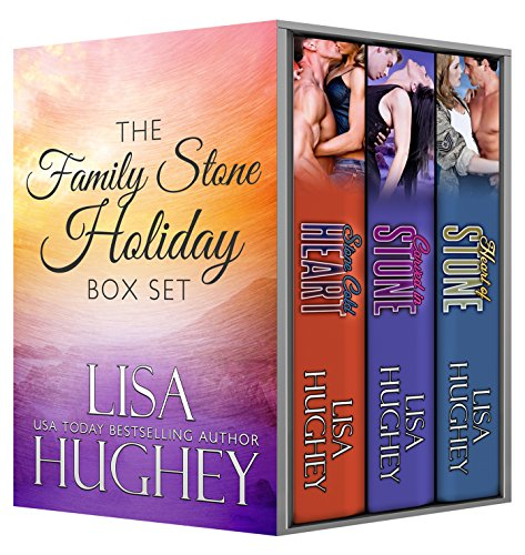 Lisa Hughey - Family Stone Holiday Box Set: (including Stone Cold Heart, Carved in Stone, and Heart of Stone) (Family Stone Romantic Suspense)