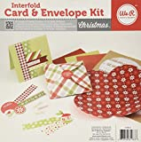Interfold Card and Envelope Kit - Christmas