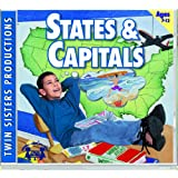 States & Capitals Music CD