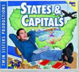 States & Capitals Music CD