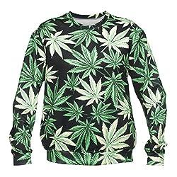Womens Mens Sweatshirt Jumper Top Fully Printed Sweater Teenager Fashion
