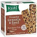 Kashi Crunchy Chia Bar, Chocolate Chip, 5-2 Bar pouches Net WT. 7 oz by Kashi