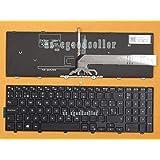 FidgetFidget Keyboard for Dell Inspiron 5542 5543 5545 5547 5548 Spanish Teclado Backlit