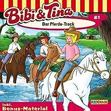Der Pferde-Treck (Bibi und Tina 81) (       ungekürzt) von Markus Dittrich Gesprochen von: Susanna Bonasewicz, Dorette Hugo, Sven Hasper, Björn Schalla, Gunter Schoß