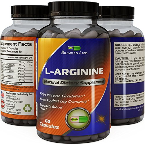 Purest-L-Arginine-Supplement-on-the-Market-60-Capsules-Boost-Nitric-Oxide-Levels-Endurance-Full-Time-Energy-Enhancement-Potent-and-Effective-for-Men-Women-and-Teens-Best-L-Arginine
