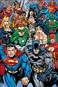 GB eye 61 x 91.5 cm DC Comics Collage Maxi Poster, Assorted