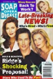 Hunter Tylo, Ronn Moss, Katherine Kelly Lang, Bold and the Beautiful, Melissa Reeves - October 22, 1996 Soap Opera Digest Magazine