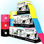 123TAPE Kinesiologie Tapes, 5cm x 5m,...