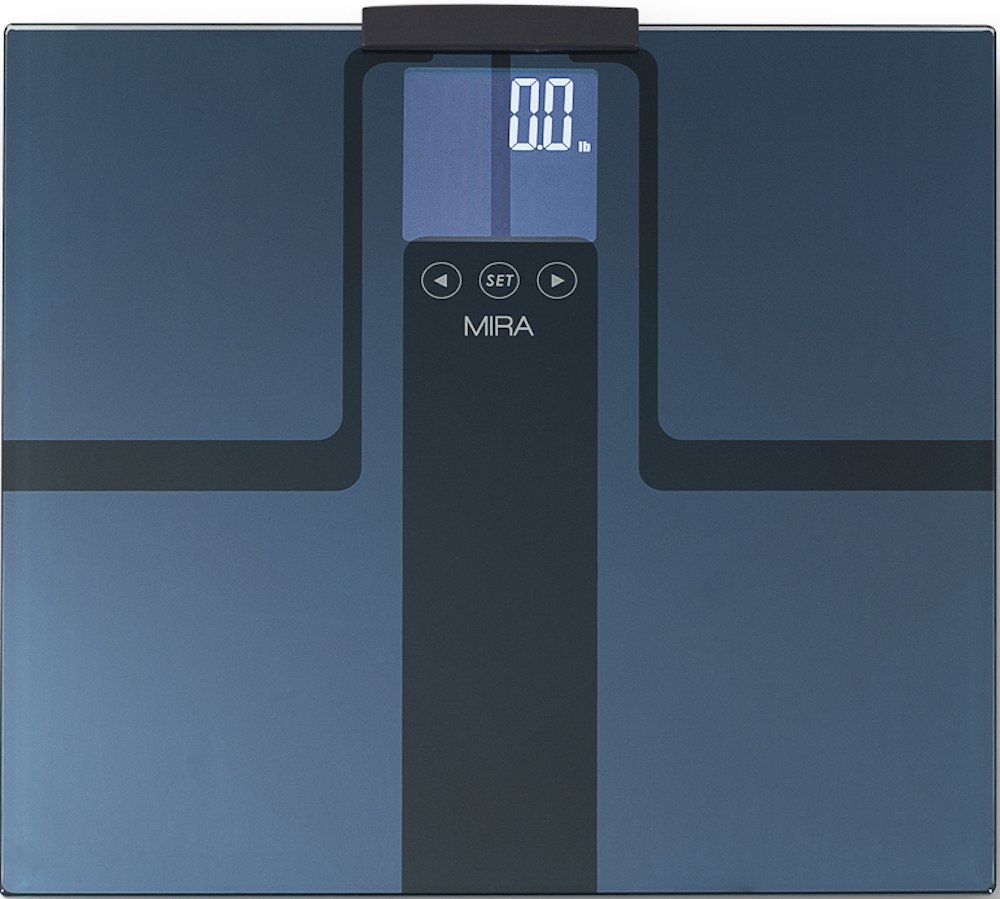 MIRA Digital Body Fat Scale & Body Fat Analyzer with 8 User Auto Recognition & Max 400 Lb. Capacity at $44.95 61IlAdKV5VL._SL1500_