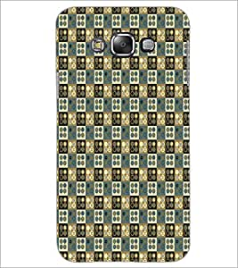 PrintDhaba Pattern D-5929 Back Case Cover for SAMSUNG GALAXY E7 (Multi-Coloured)