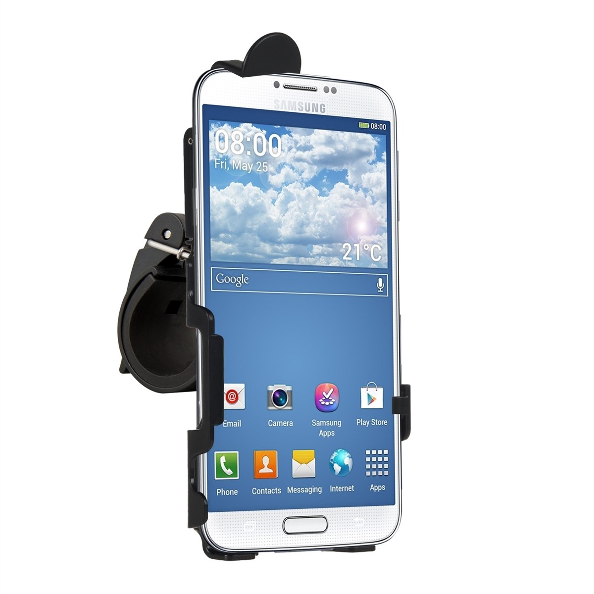 Bicycle mount for Samsung Galaxy Alpha - keeps your mobile phone positioned securely! интернет магазины в брянске samsung galaxy alpha