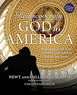 Book Cover: Rediscovering God in America: Reflections on the Role of Faith in Our Nation's History and Future