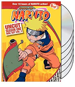 Amazon.com: Naruto Uncut Box Set: Season 1, Vol. 1: Various: Movies