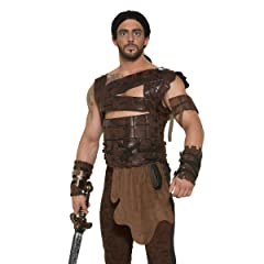 Medieval Fantasy Drogo Costume Armor and Belt Adult