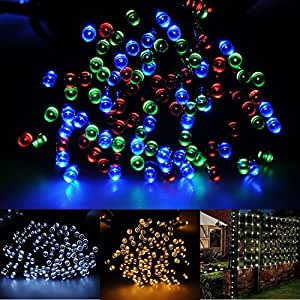 Amazon Brightown 55ft 17m 100 LED Solar Fairy String