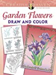Creative Haven Garden Flowers Draw an...