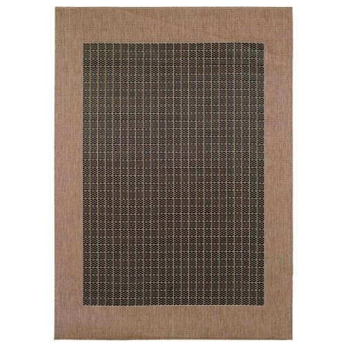 Black friday Checkered Field Area Outdoor Area Rug 5 10